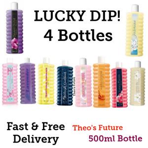 4 x Avon BUBBLE BATH 500ml each LUCKY DIP - Treat Yourself