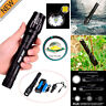 8000LM USB Zoomable Tactical Cree T6 LED Flashlight Torch + Battery + Charger