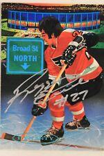 Reggie Leach Philadelphia Flyers Signed Autographed 1993 Pro Set Card #471