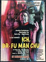 Ich, Dr. Fu Man Chu 1965 - Christopher Lee - A1 Film Poster Plakat (M-8223+