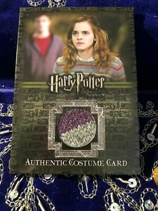 Harry Potter Emma Watson as Hermione Granger Costume Card Variant RARE!!! OOTP