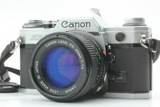 """""""Exc+5"""" Canon AE-1 35mm SLR Film with New FD 50mm f1.4 Lens from Japan #065"""