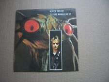 "ROGER TAYLOR - FUTURE MANAGEMENT / LAUGH OR CRY - 7"" PICTURE SLEEVE - QUEEN"