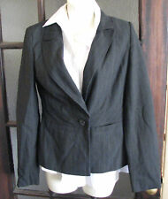 Ladies black pin stripe jacket size 10
