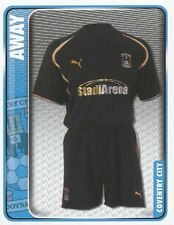 065 AWAY KIT ENGLAND COVENTRY CITY.FC STICKER FL CHAMPIONSHIP 2010 PANINI