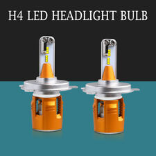 Pair H4 9003 HB2 1300W 162000LM LED Headlight Kit Conversion Bulbs Hi/Low 6000K