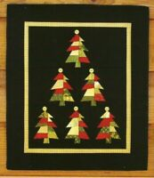 Oh Christmas Tree - A Paper Foundation Wall Quilt Pattern by MH Designs