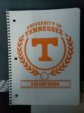 University Of Tennessee Volunteers Spiral Bound Notebook, 70 College Ruled...