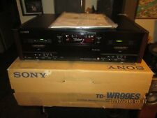 Sony TC-WR99ES Stereo Cassette Deck!!! AS-IS!!!
