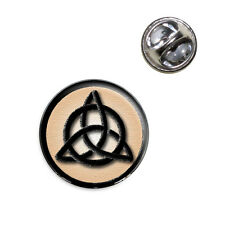 Celtic Triquetra Circle Knot Irish Lapel Hat Tie Pin Tack