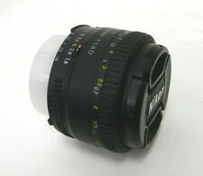 Nikon 50mm f/1.8D AF Nikkor Auto Focus Standard Lens Black