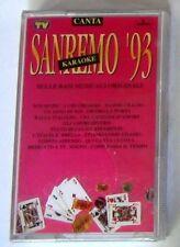 BASI MUSICALI ORIGINALI - CANTA SANREMO '93 - Musicassetta Sigillata MC K7