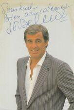Autographe Original: JEAN-PAUL BELMONDO / Vintage