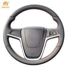 Black Leather DIY Wheel Cover for Buick Opel Mokka 2013-2016 Insignia Meriva