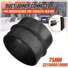 Duct Joiner Connector Pipe FitFor Eberspacher For Webasto Diesel Heater 42/75mm
