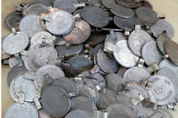 25 XL Extra Large Belly Dance Coins Kuchi Tribal Fusion Ats Vintage