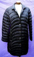 Daunenmantel XL schwarz LAURA DI SARPI Steppmantel Daunen Mantel leicht 40 42