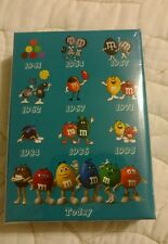 New Sealed Package Mars M&M Candies Collectible 75th Anniversary Playing Cards