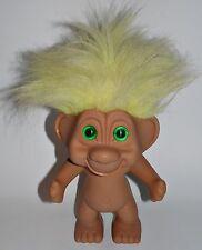 XL Troll 25cm Gelbe Haare 80er 90er Jahre Zaubertroll Gnom Figur Kult Vintage