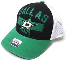 Reebok NHL Dallas Stars Men's SP17 City Name Trucker Cap Black One Size New NWT