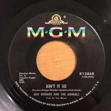 "Eric Burdon And The Animals-Aint It So-Monterey-7"" 45-MGM-Vinyl Record"