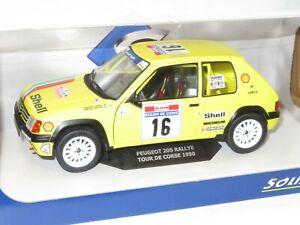 1/18 Peugeot 205 Rallye  Rally de France Tour de Corse 1990 #16  F.Doenlen