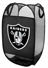 NFL Oakland Raiders Laundry Hamper Mesh Basket