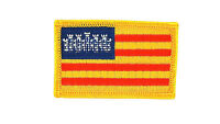 Baleares spain spanish flag patch patches backpack badge iron on embroidered