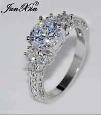 White Sapphire Handcrafted Ring