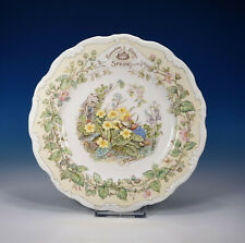 "Royal Doulton ""Brambly Hedge Spring"" Teller 20,7 cm."