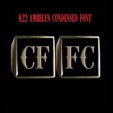 Bronze CFFC 2 Piece MC Club Biker Ring Set K22 font handmade Custom size