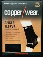 Copper Wear Compression Ankle Sleeve Unisex sz L LARGE NIB