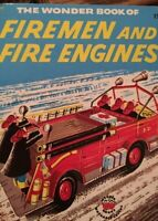 "1956 ""Wonder Book of Firemen and Fire Engines"" Wonder Books"