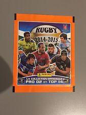 Vend 5 POCHETTES Panini - Rugby 2014 - 2015 - Neuve Sous Scelle NOUVEAU