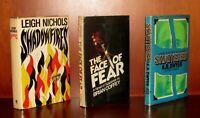 Shadowfires, Shattered, Face of Fear, K. R. Dwyer, Brian Coffee aka Dean Koontz