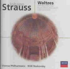 VIENNA PHILHARMONIC / WILLI BOSKOVSKY - STRAUSS: THE BLUE DANUBE - CD - NEW