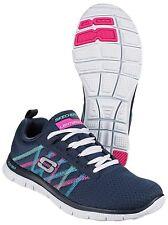 Zapatillas deportivas de mujer Skechers color principal azul de lona