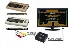 RCA AV To HDMI HDTV Adapter Converter For The Commodore 64 128 & VIC-20 Computer