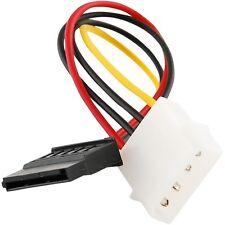 """6"""" Molex IDE 4-Pin Male to Serial ATA SATA 15-Pin Female Power Adapter - Canada"""