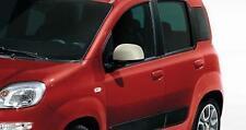 Genuine Fiat Panda 12-16 Pastel Beige Mirror Cover Caps Set Kit 735551001 obs