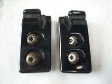 Mazda MX5 MK1 Roof Hardtop Seat Belt Tower Locaters with Bolts (pair)