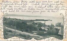 DIGBY NS- Digby Looking North General View Art Nouveau Postcard – udb - 1906