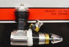 "COX ""TD .049"" Powerful, New, Single Slot Cylinder"