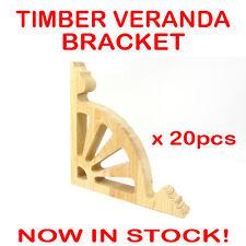20pcs Timber Treated Pine Federation Corner Verandah Bracket Heritage Veranda