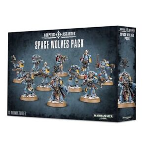 Space Wolves Pack - Warhammer 40k - Brand New! 53-06