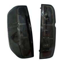 For 05-13 Nissan Frontier Navara D40 Tail Light Lamp Rear Smoke Black Len