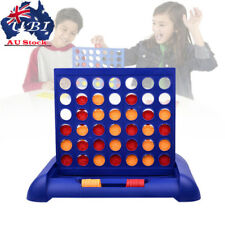 Kid Child Connect 4 Game Educational Board Toys Family Gathering Fun Tool AU