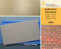 English Brick Bond mould - Model Railway Scenery OO Scale - CM50