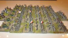 Baccus well painted and based 6mm French Napoleonic line infantry and artillery.