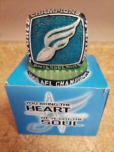 Philadelphia Soul 2008 Vintage AFL Champions Commemorative Ring Paperweight